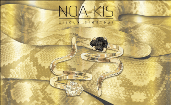 bague snake serpent noakis swarovski mode pierre bijoux creation createur