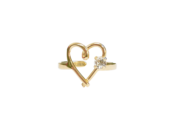 bague coeur swarovski createur mode made in france noakis noakis bijoux jewel ring marseille